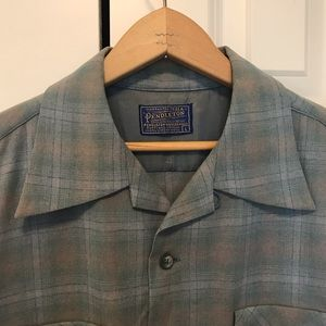 Vintage 1950's Pendleton Board Shirt